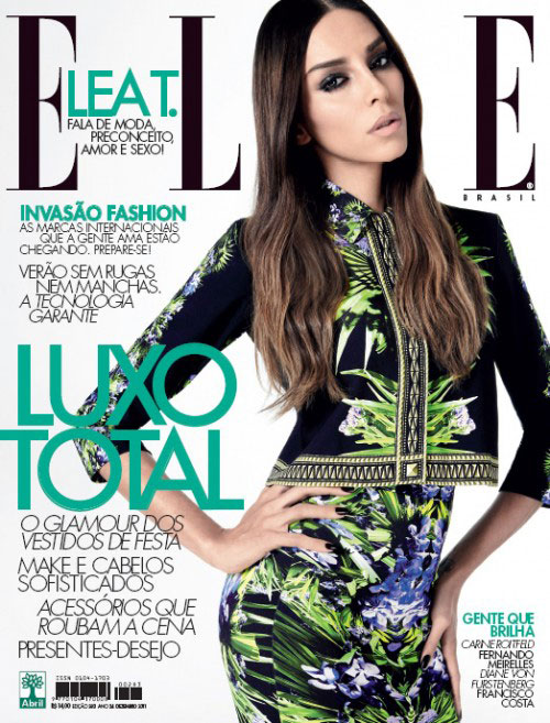 "Elle Magazine Brasil, ""Simple and Hype"", January 2012"