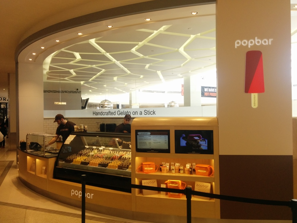"""Popbar- Handcrafted Gelato on a Stick Announces Grand Opening of Popbar at the West Edmonton Mall in Edmonton, Alberta, Canada"", May 8, 2014"