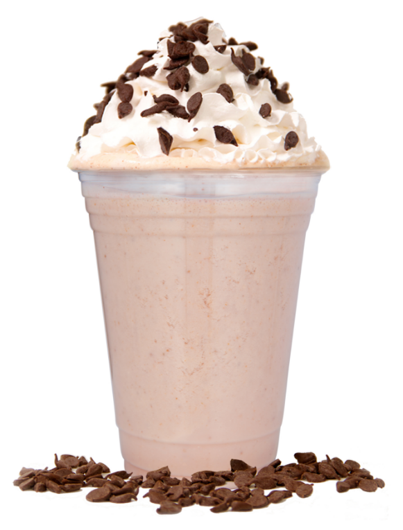 Ultimate Double Shake A blend of any two popbars popped with Chocolate Flakes.