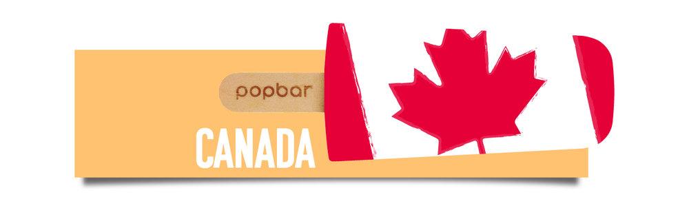 Canada Popbar Locations