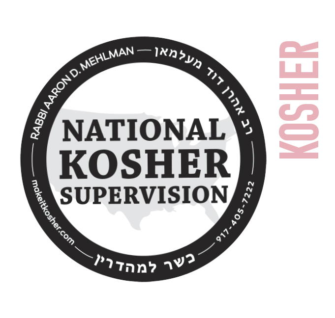 Our New York Location is certified Kosher