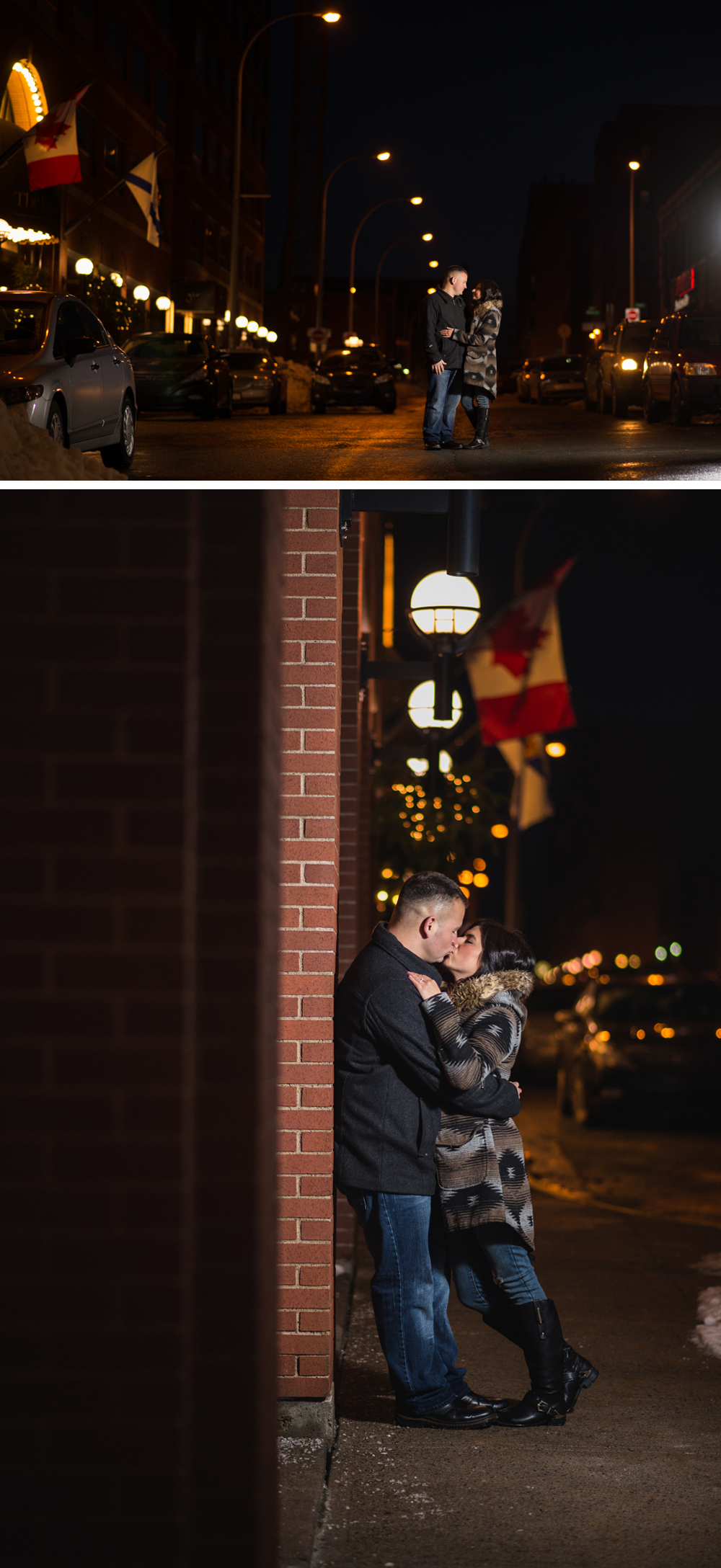 halifax wedding photographer engagement session citadel sliding