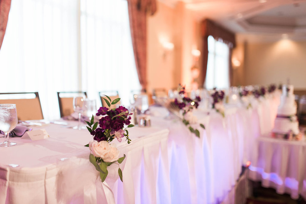 The Harbourfront boasts some of the best views of the Halifax Harbour. With so many windows in the ballrooms the lighting brings out the best in your decor.