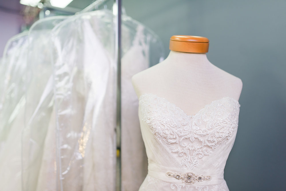 Every style you can think of can be found in this beautiful bridal shop