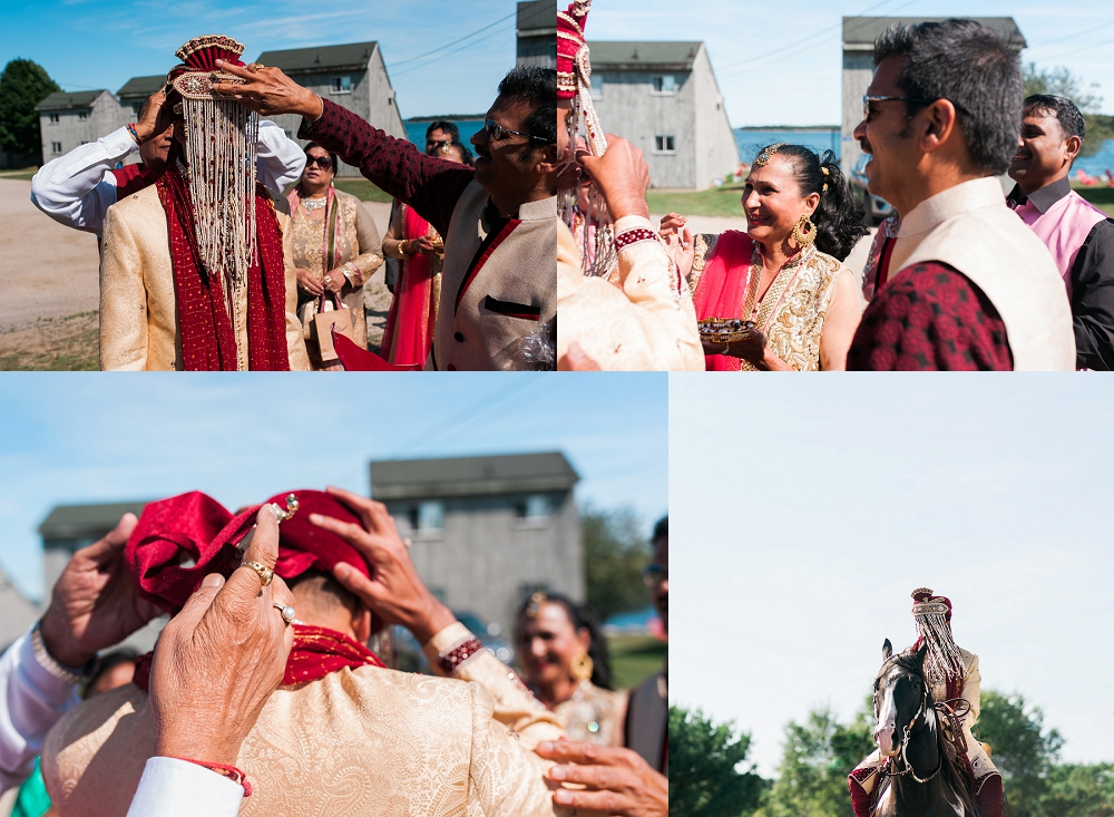 oak island wedding hindu ceremony