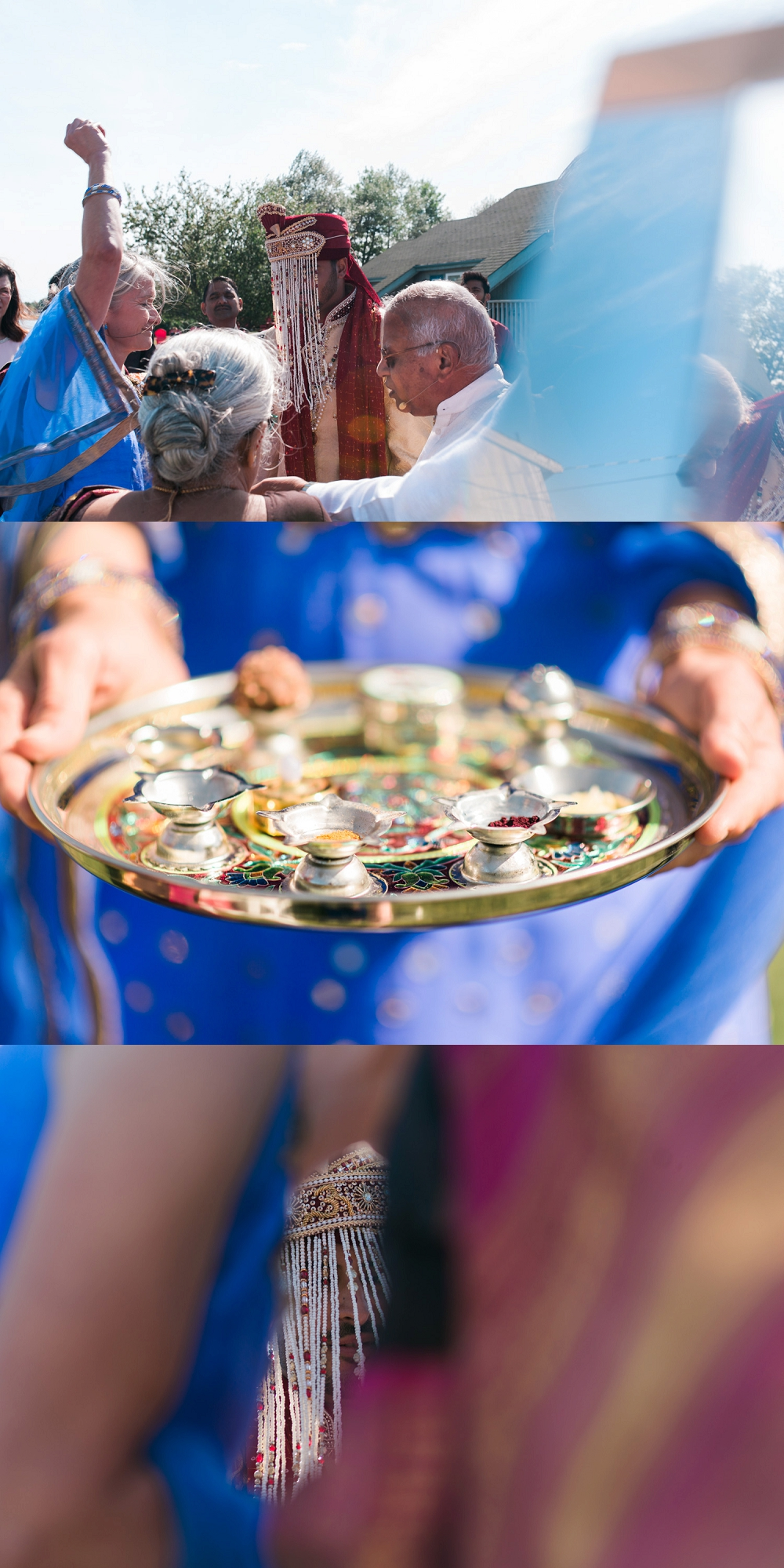 oak island wedding hindu ceremony 2