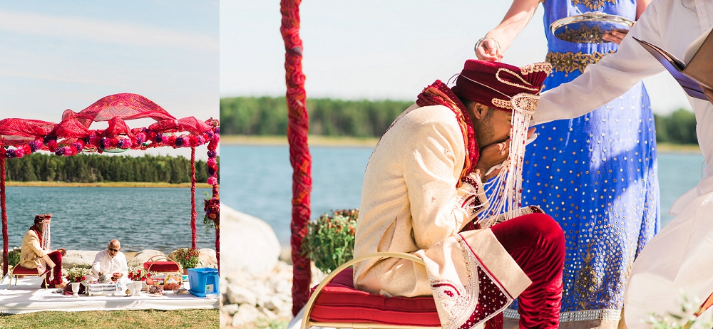 oak island wedding hindu ceremony 5