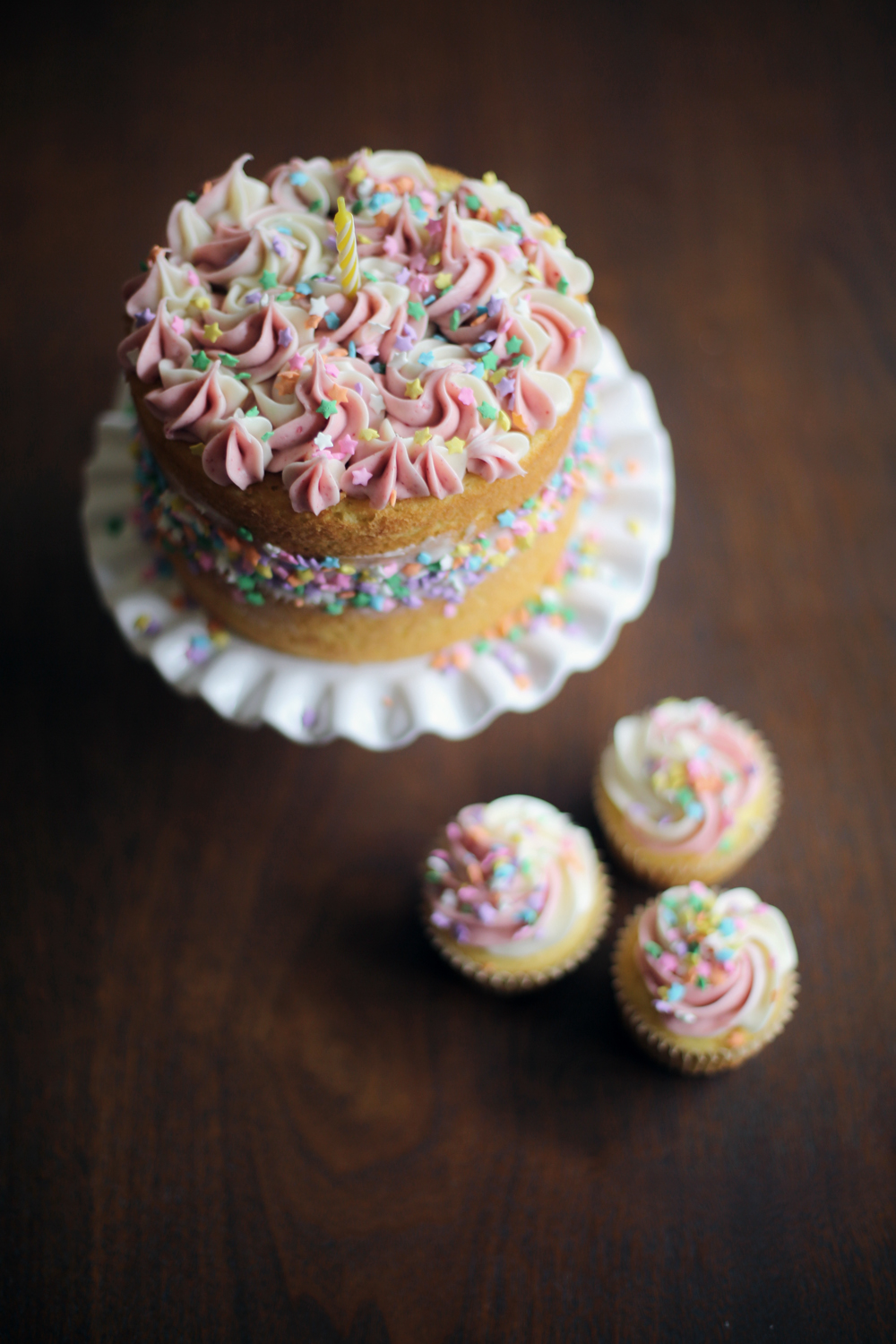 Rainbow Lemon Cake with Strawberry Cream Cheese Icing 5.jpg