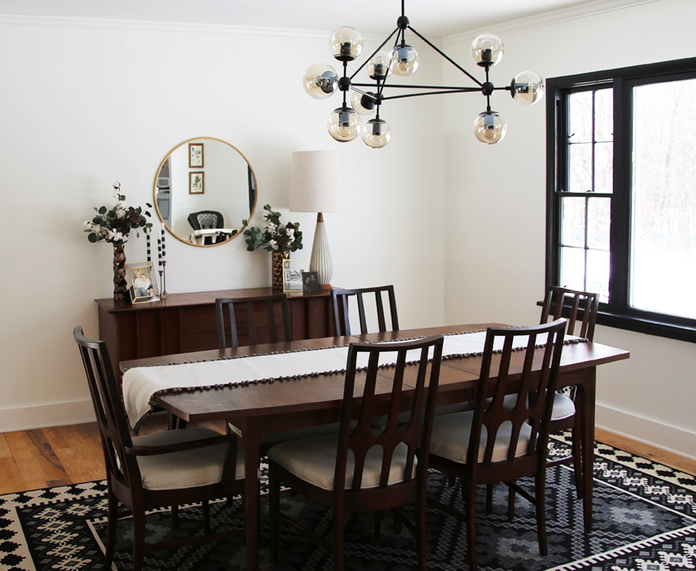MCM Dining Room in Farmhouse.jpg