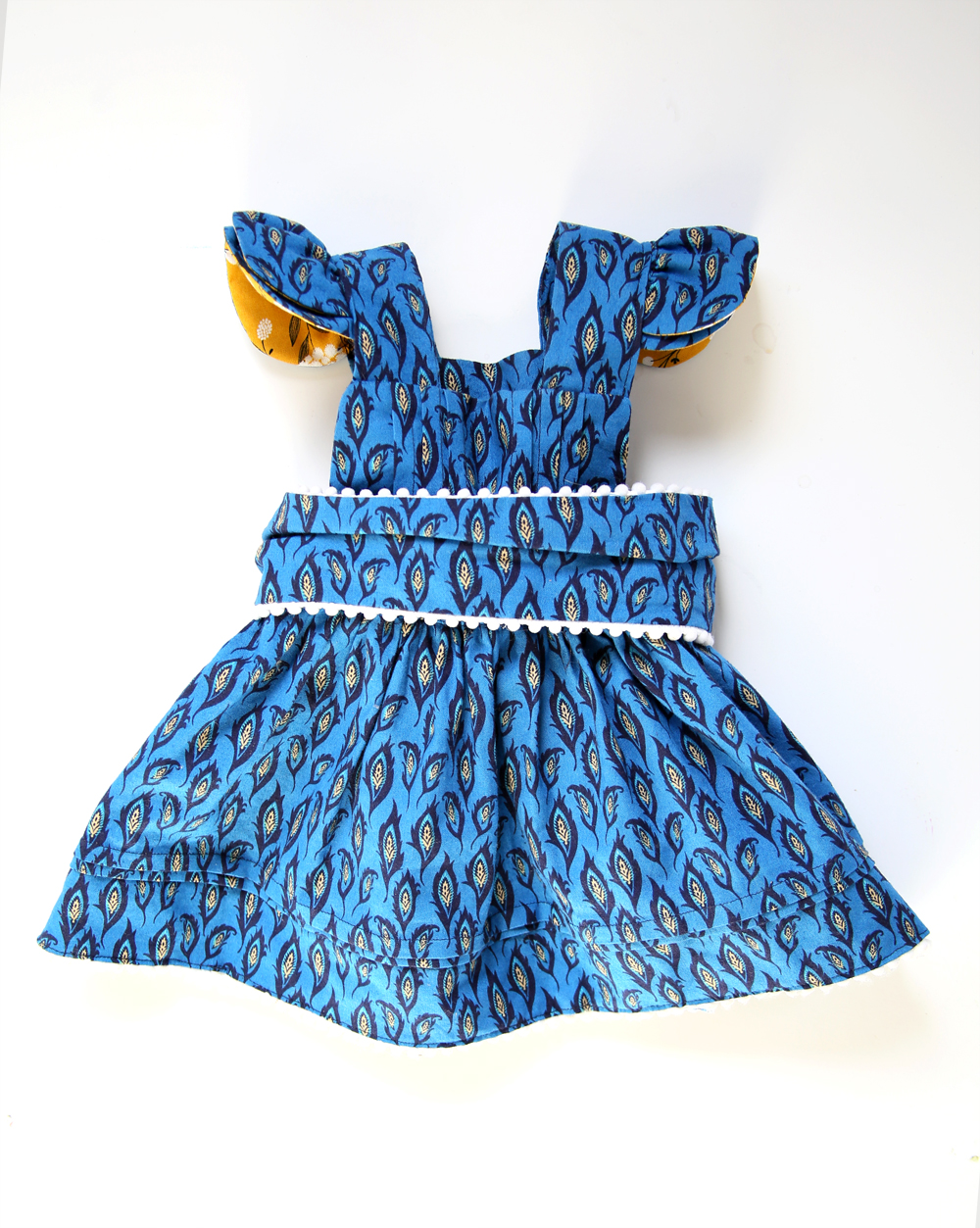 Blue Paisley Dress by Jessica Quirk