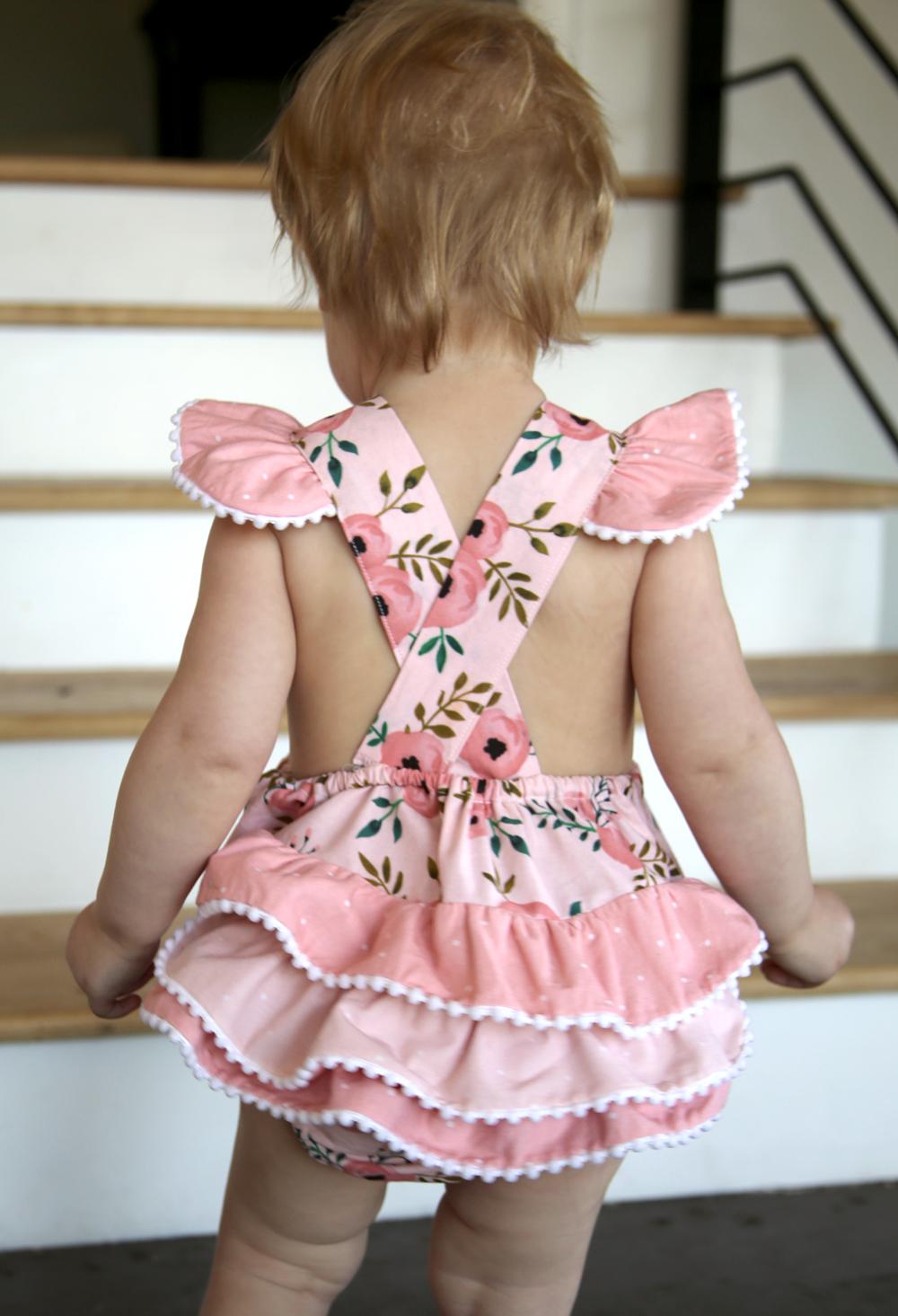 Handmade Pink Romper for Toddler Girl.jpg