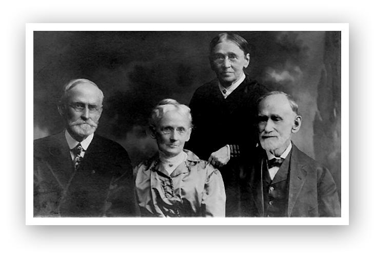 Col. David King Jr., Sarah Jane King, Mary Elizabeth Gotwald, Robert Quigley King