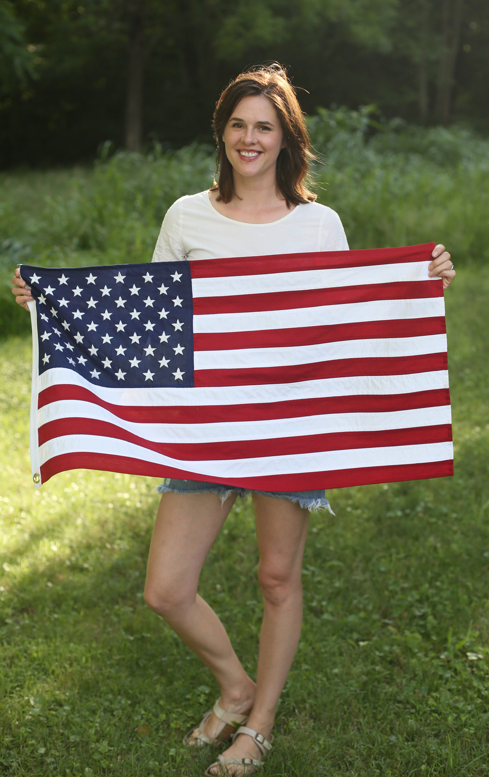 Home+Made+American+Flag+Front - Making an American Flag