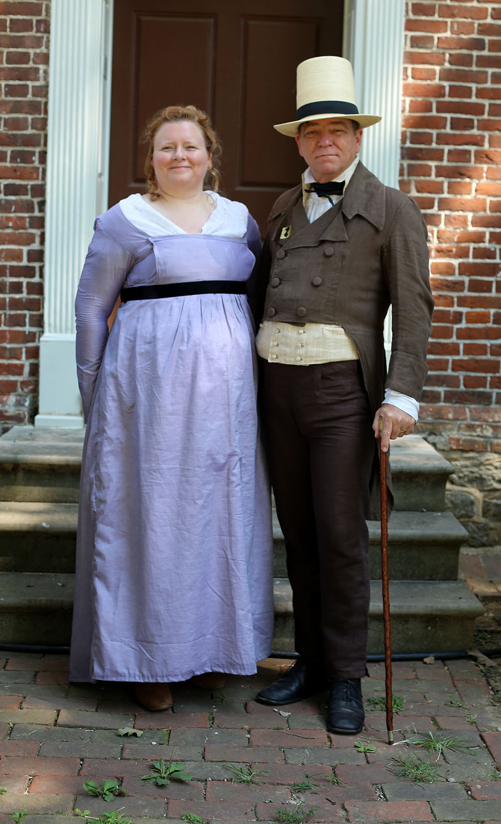 JAF+Lovely+Country+Couple - Jane Austen Pageant at Locust Grove 2018