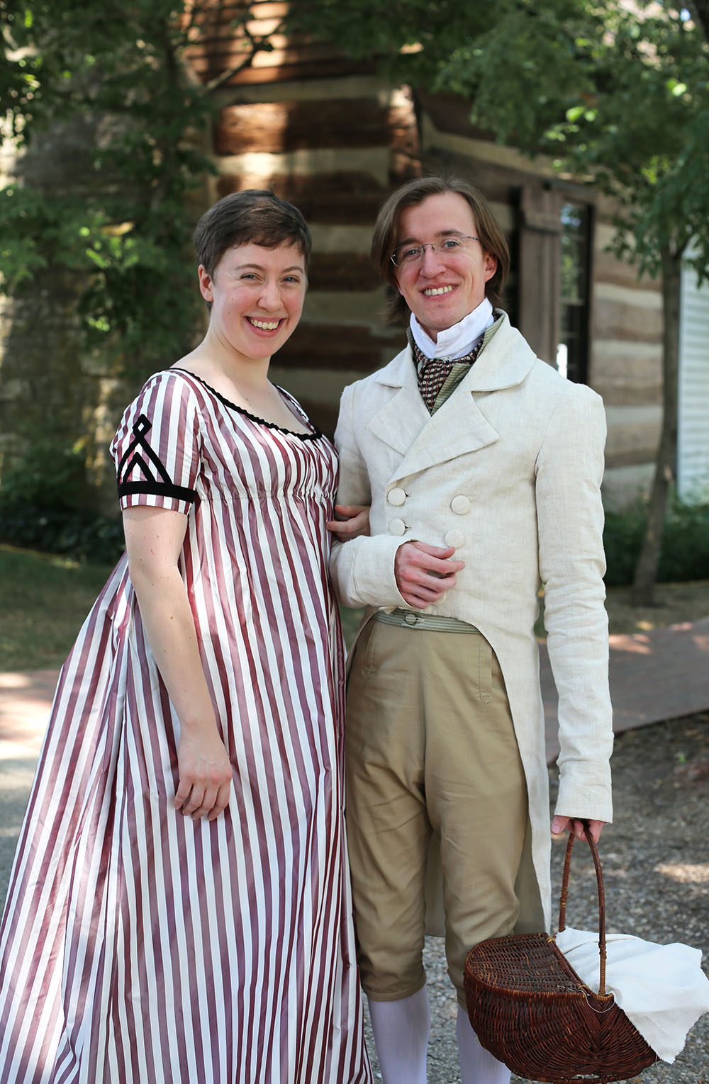 JAF+Lovely+Couple - Jane Austen Pageant at Locust Grove 2018