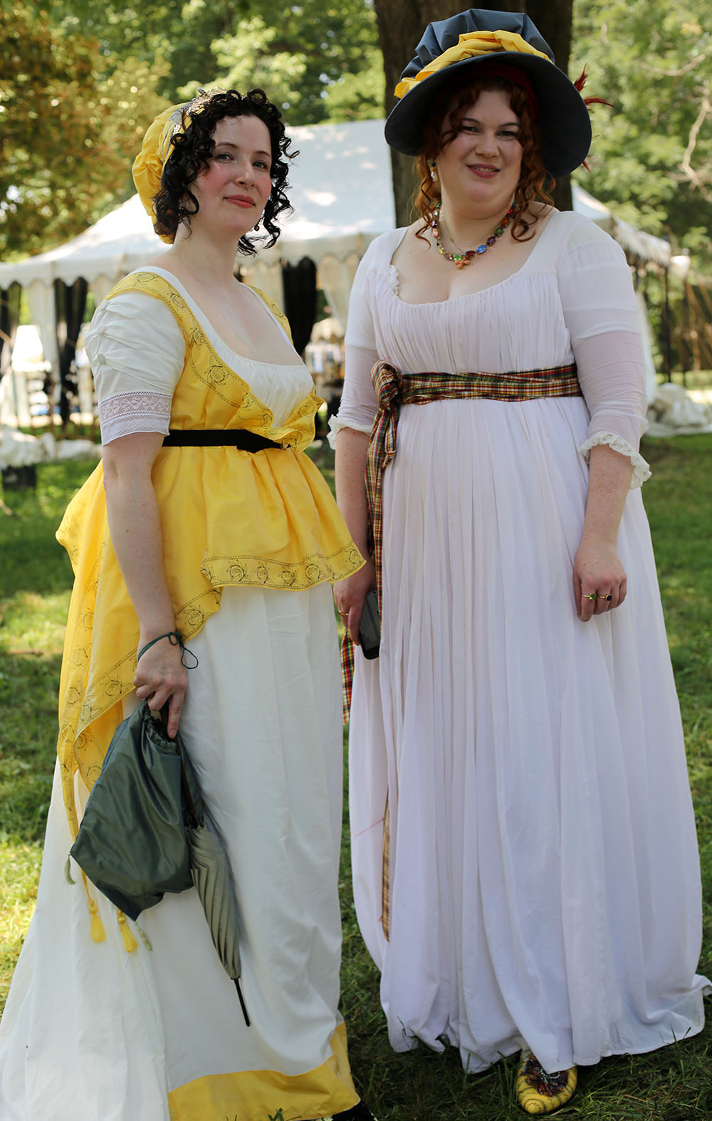 JAF+Yellow+and+White+Ladies - Jane Austen Pageant at Locust Grove 2018