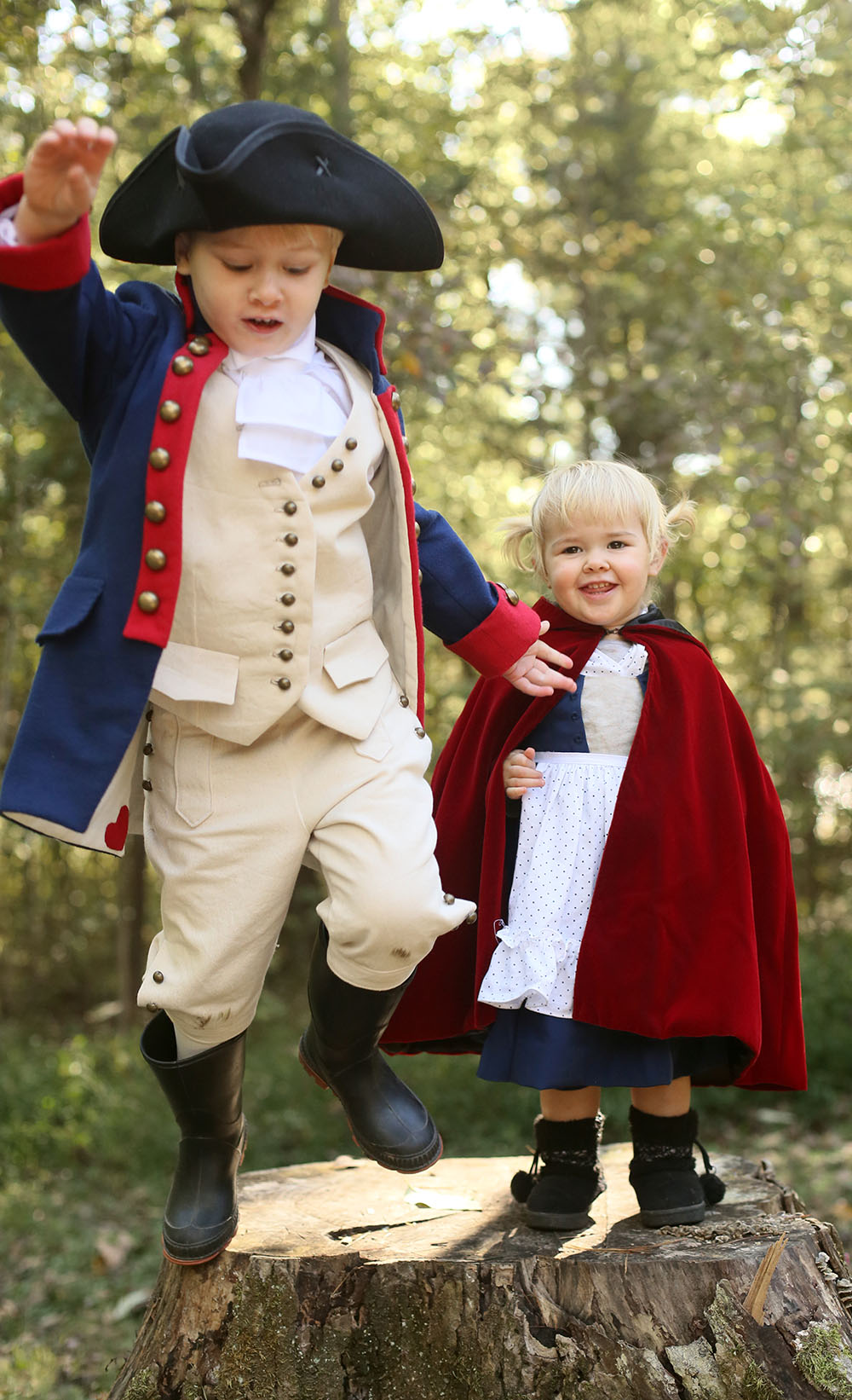 Hamilton and Little Red Costumes