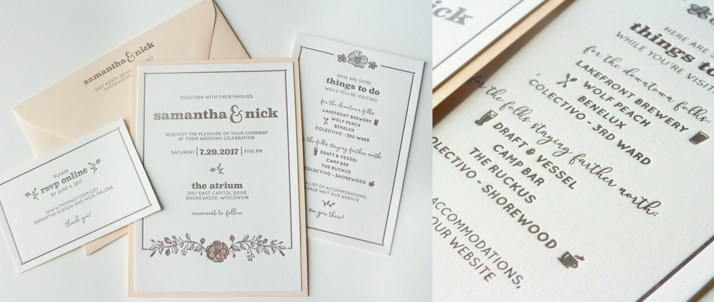 Wedding Invitations & Stationery — Bay View Printing Co
