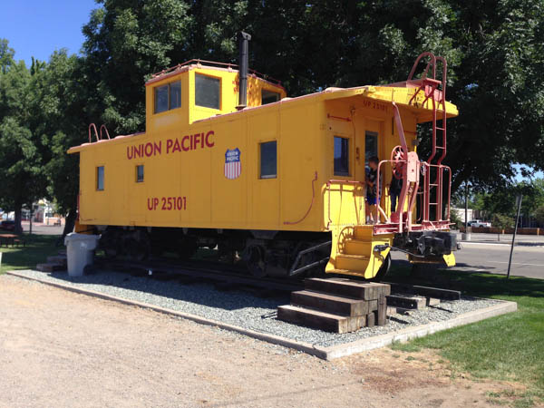 Come visit our 1944 Union Pacific Caboose for a self guided tour!  Open for visitors on the weekend!