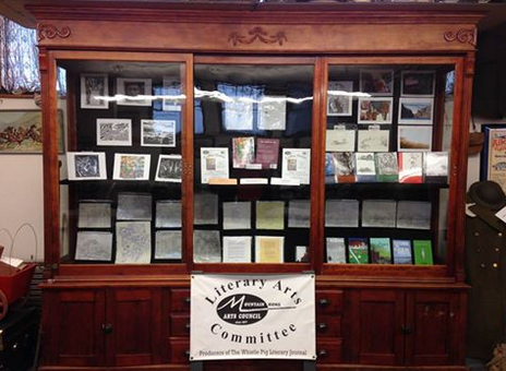 The Whistle Pig Literary Journal is featured at the Mountain Home Museum.
