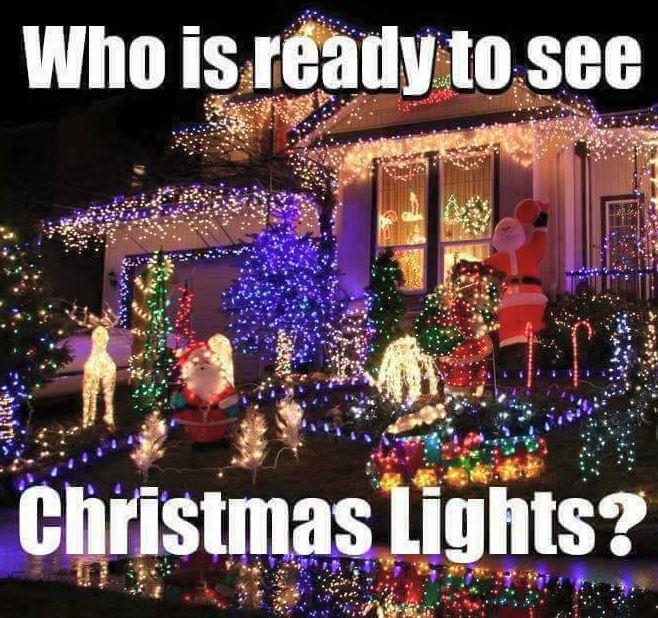 Mountain Home Christmas Lights
