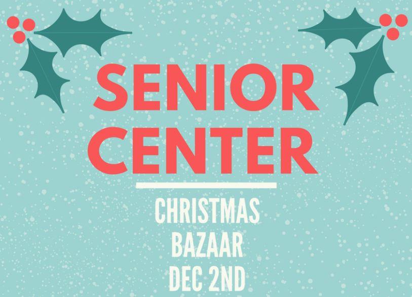 Senior Center Bazaar.JPG