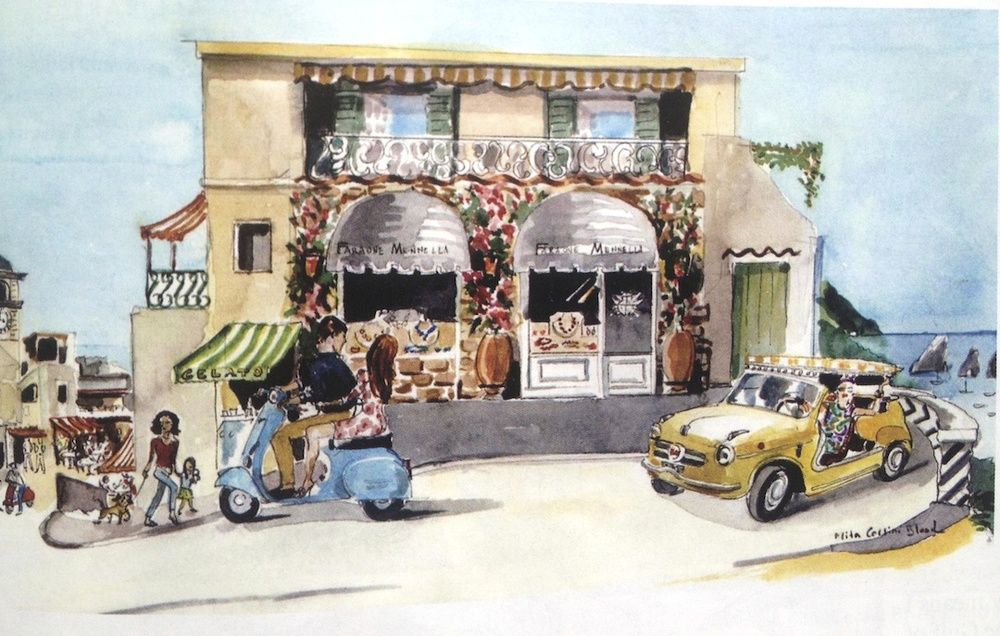Dolce Vita Living - Rendering by Mita Corsini Bland
