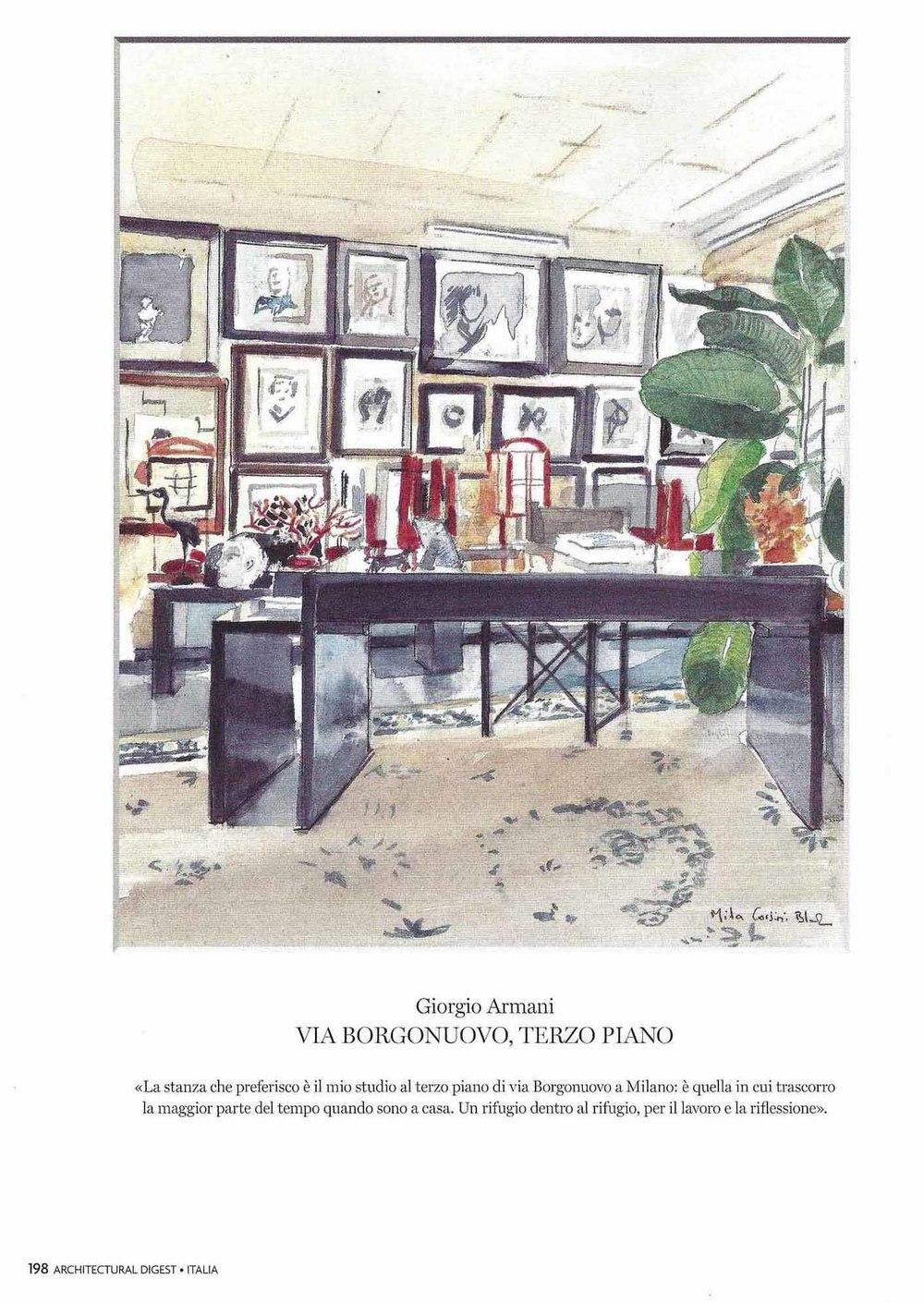 Giorgio Armani - Studio
