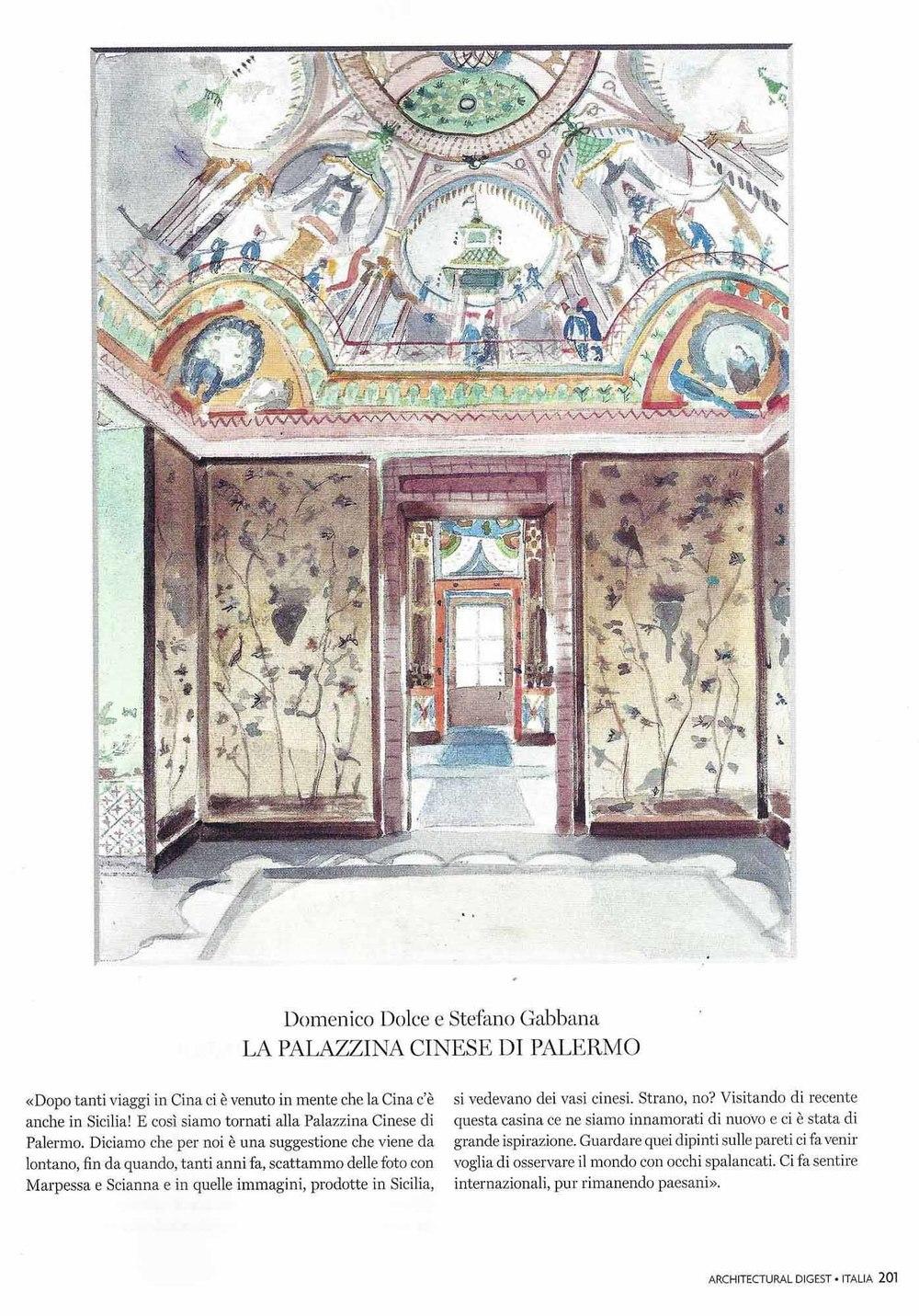 Domenico Dolce & Stefano Gabbana - La Palazzina Cinese