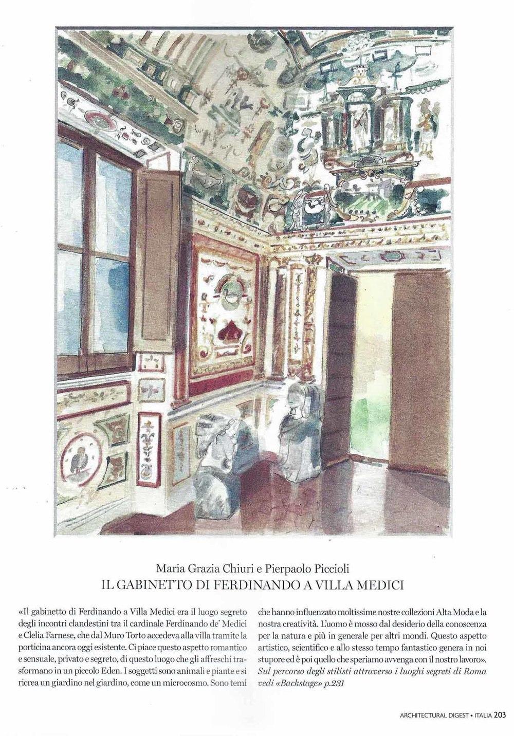 Maria Grazie Chiuri & Pierpaolo Piccioli - Villa Medici
