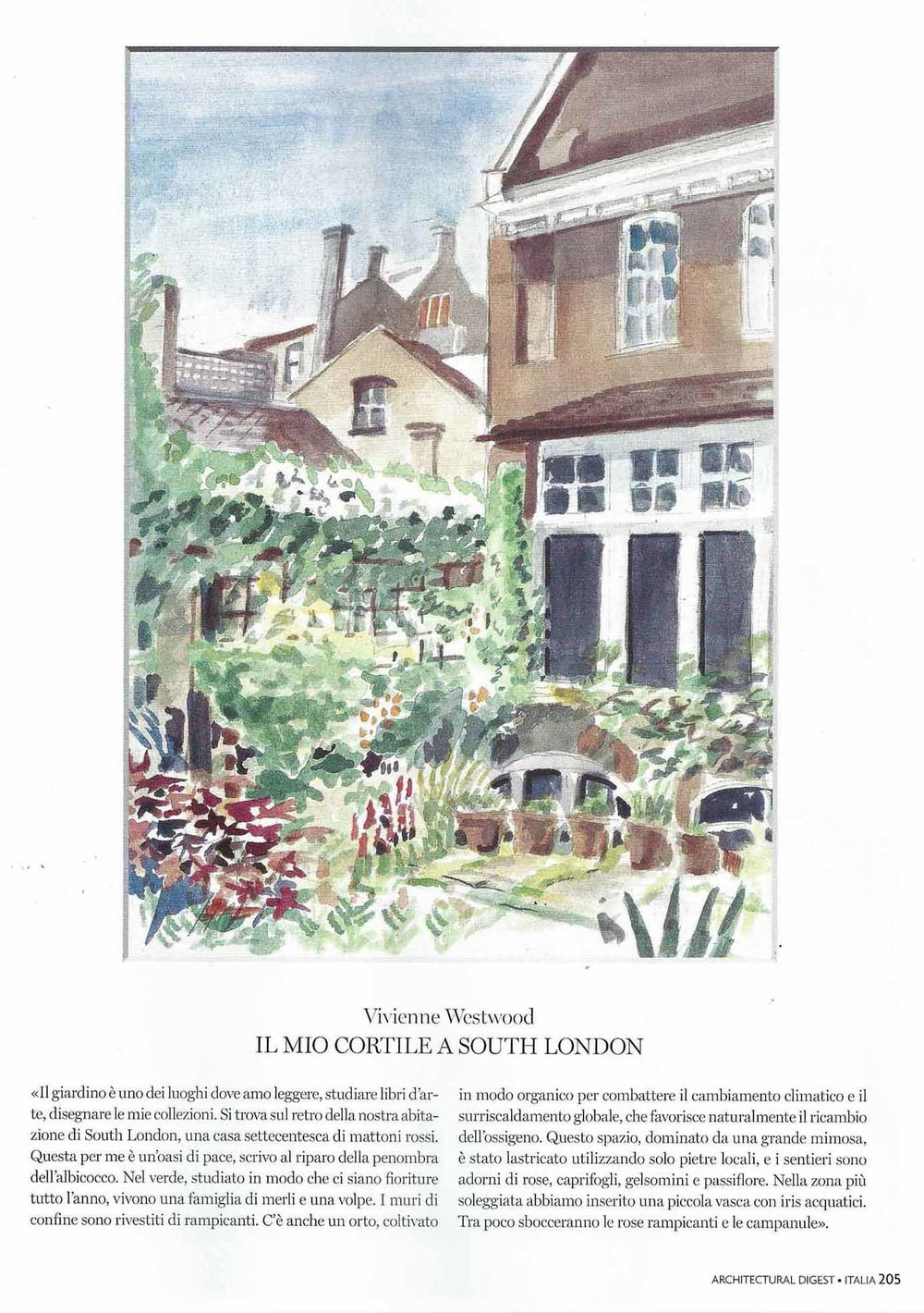 Vivienne Westwood - South London Garden