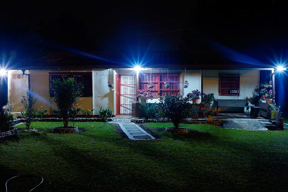 Olga's home in Los Pinos