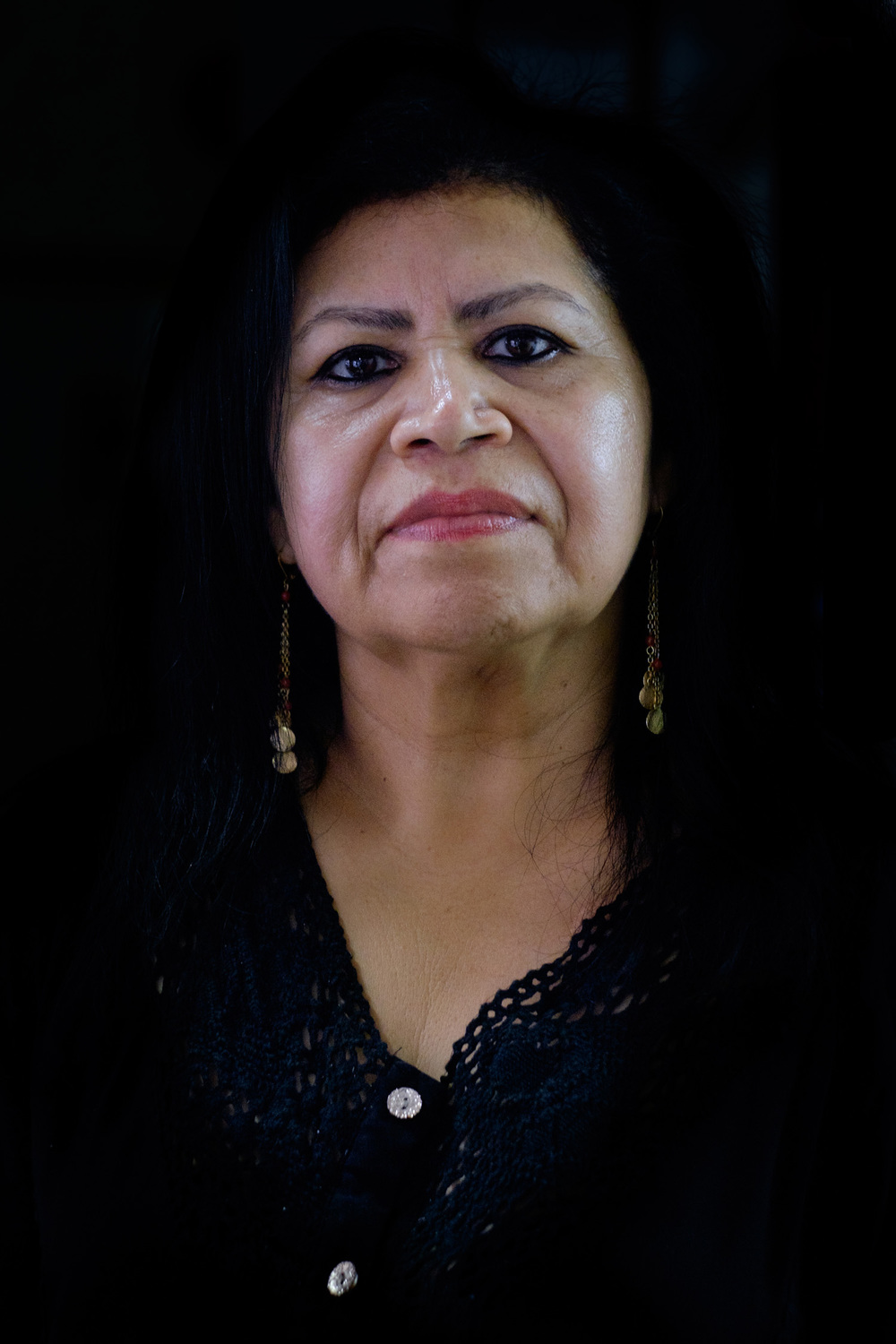 The owner of a pub where the local Baptist Church pastors and Blanca are meeting sex-workers to empower them through Gospel's reading
