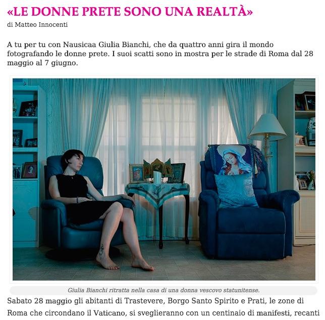 clicca sull'immagine per leggere l'intervista su LetteraDonna.it
