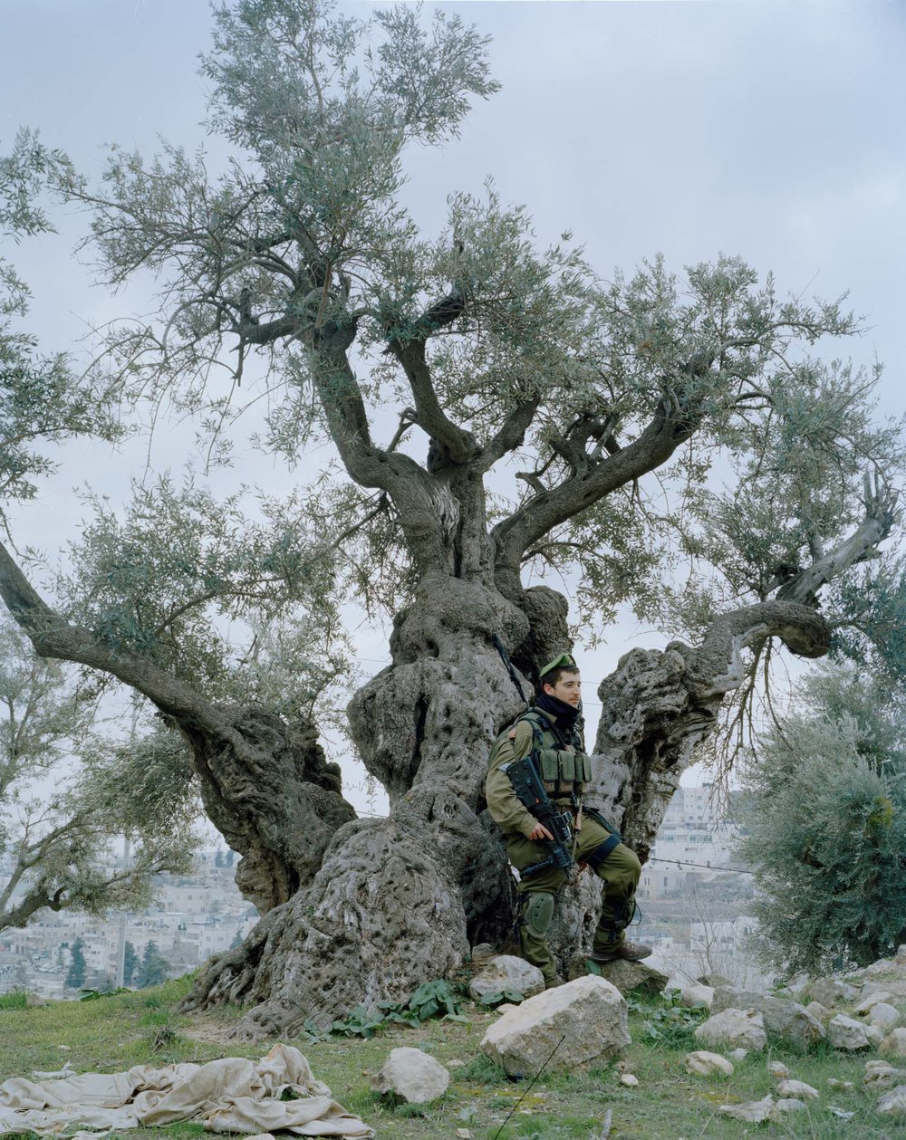 foto di Giulia Bianchi: Soldato Israeliano a Hebron, West Bank