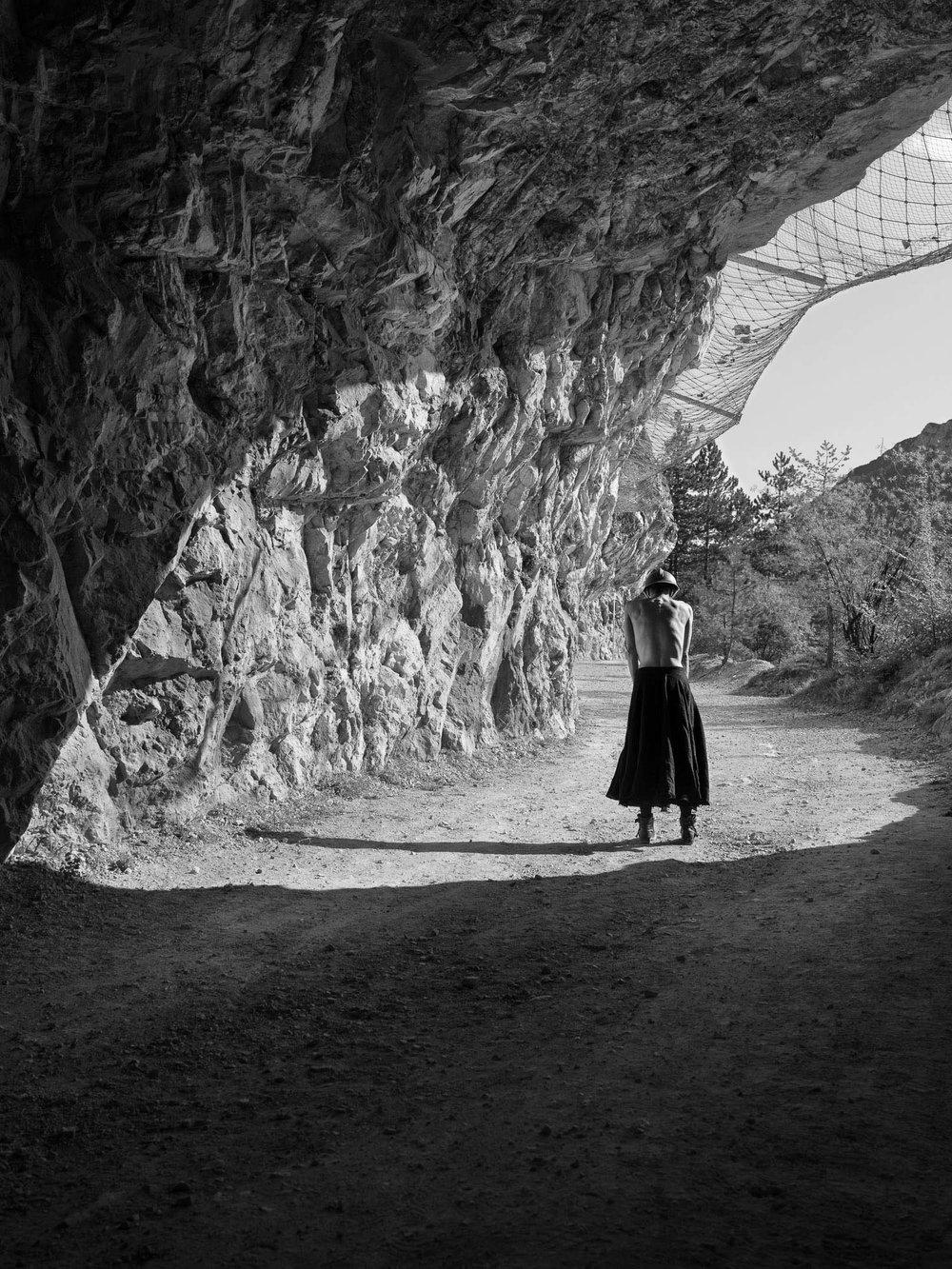 Rovereto, ballerina durante rievocazione storica forte Pozzacchio