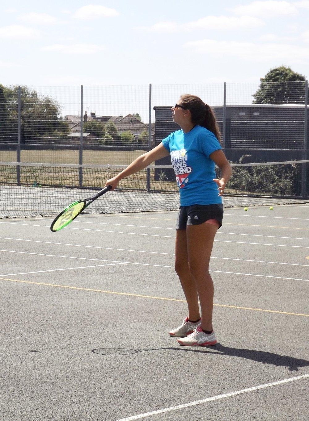 Hi!I'm Sophie - LTA Level 2 Tennis CoachDate Joined: July 2018Status: Active