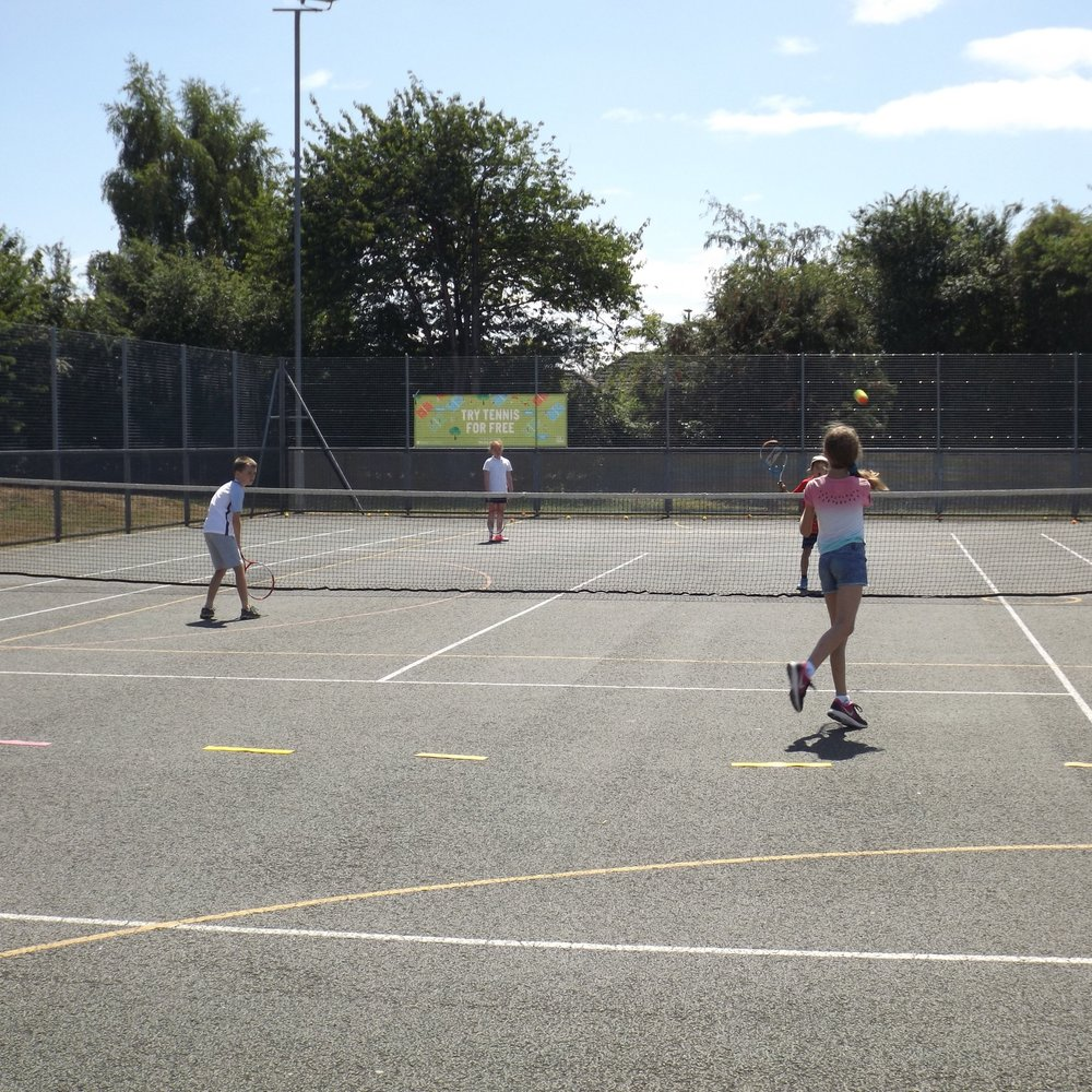 Mini Tennis - Exciting group lessons for children 3 to 12 years old.