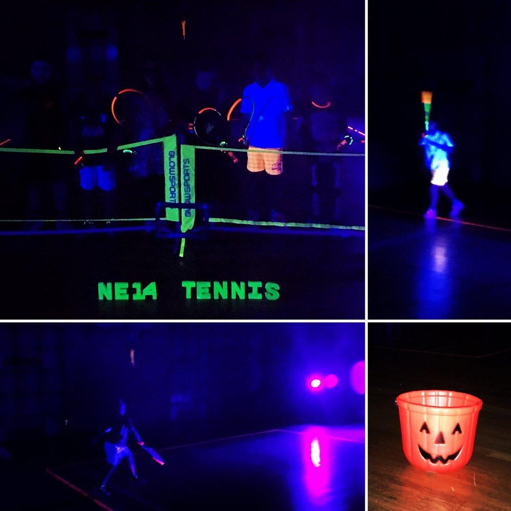 Halloween Glow Tennis