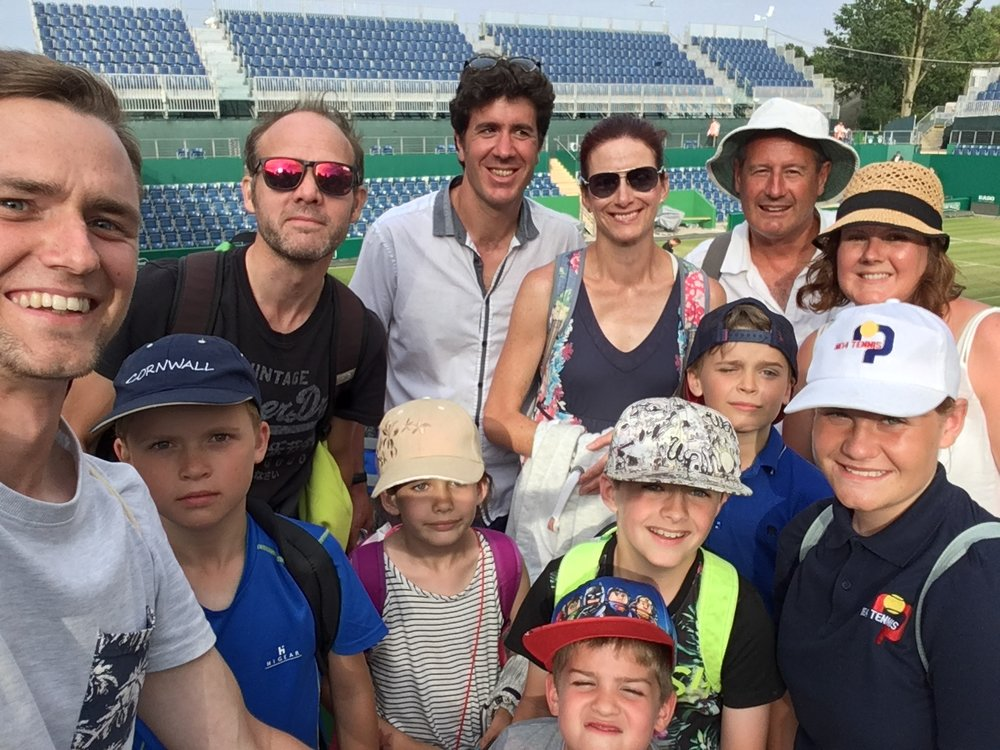 Tennis trip - For the third year in a row we took a group of players to watch the semifinals of the WTA Birmingham classic. The day was a great success as we witnessed some exciting and inspiring tennis.