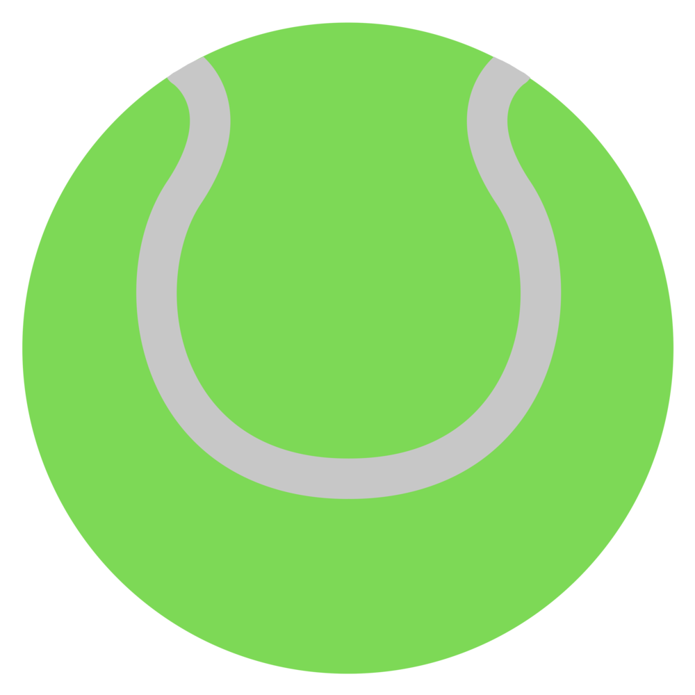 Using the full court with lighter balls, players fine tune their tennis as they work towards yellow ball tennis. - Mini Green