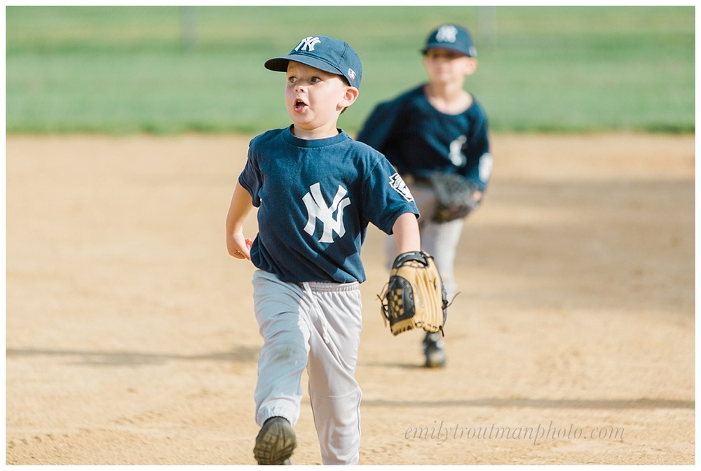 We've been regularly over at the little league fields this month!