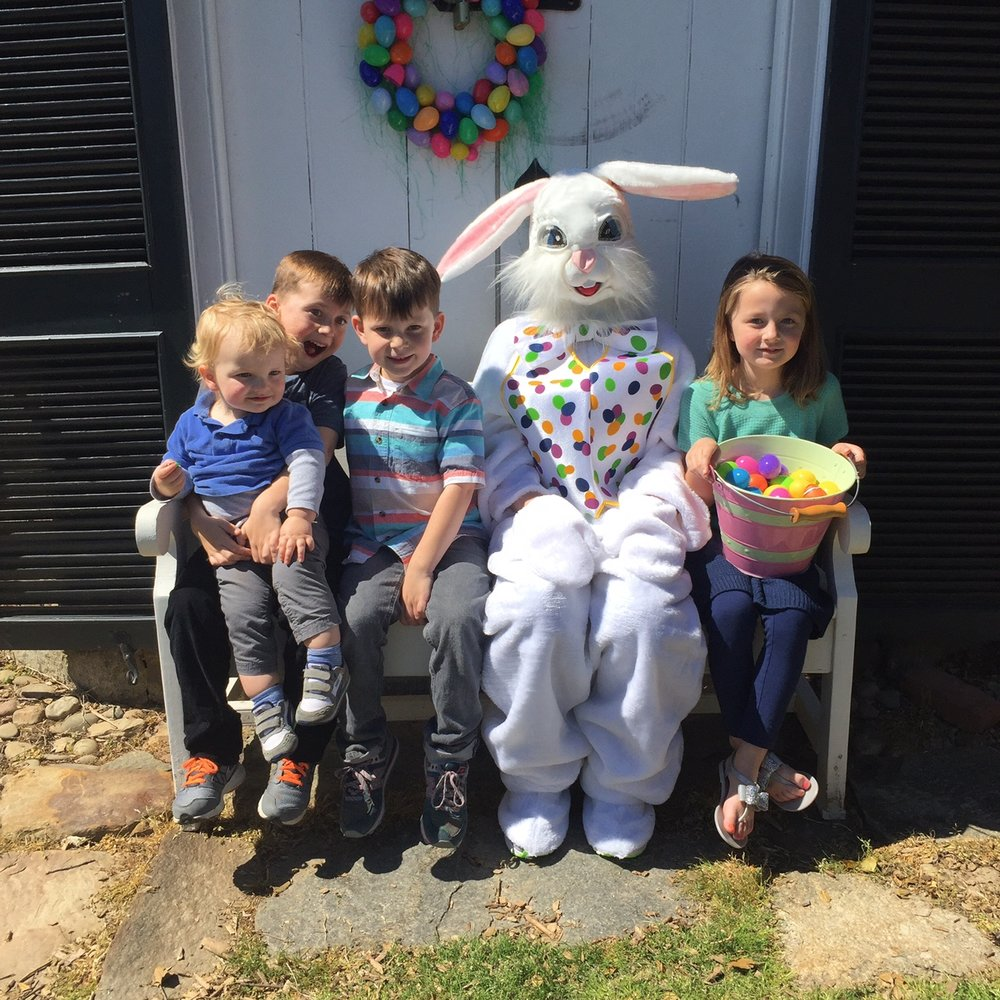 Eater Bunny visit 2017