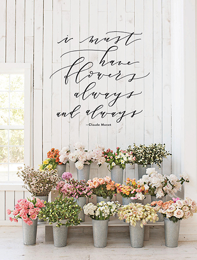 Inspiration image from the most recent Magnolia Journal
