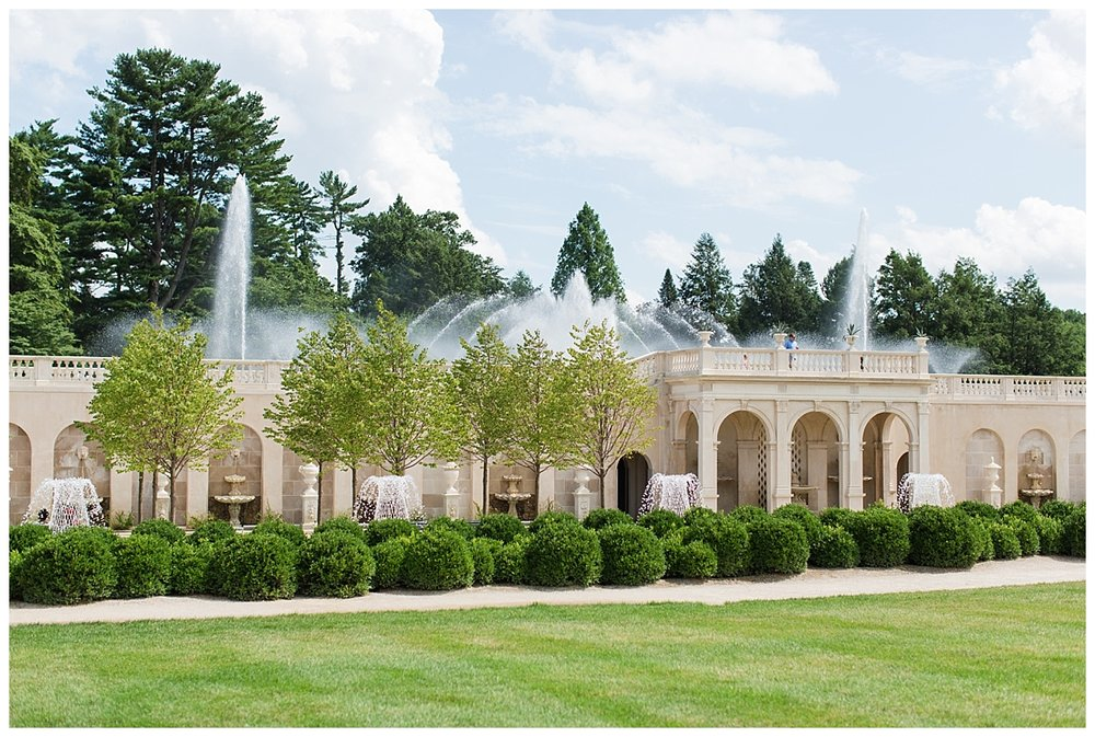 The fountain restoration at Longwood Gardens is fantastic