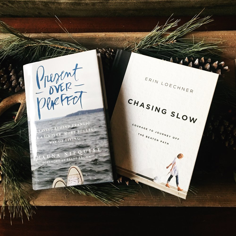 If you resonate with this blog post, I highly recommend both of these books! I enjoy both of their different writing styles but mostly their messages. They also both have excellent Instagram accounts (for when you're not avoiding the internet :)