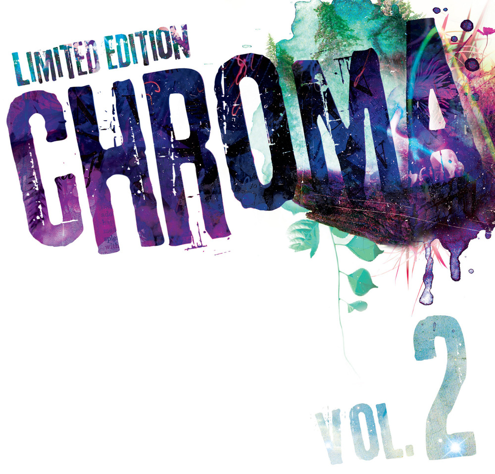 Cover of CHROMA VOL 2. http://trypticpress.com/