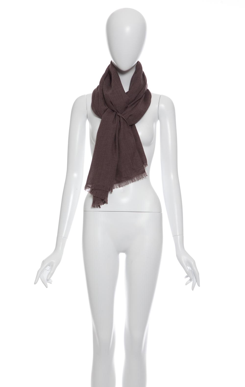 Mea : Le châle en mérinos tissé / Fine woven shawl