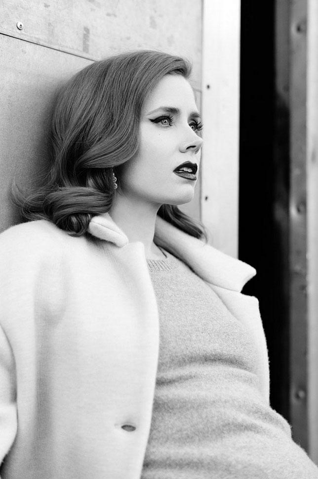 Amy Adams photographiée par Mathieu Cesar pour L'Officiel Magazine (Février 2014)