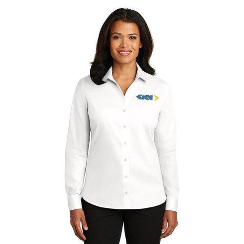 6ca1f452 Ladies Red House® Non-Iron Twill Shirt. RH79.